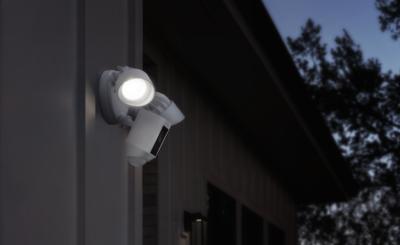 What is a floodlight camera