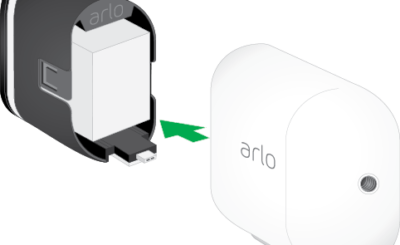 how to recharge Arlo pro camera