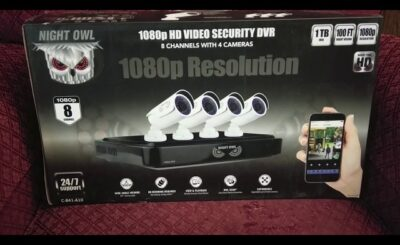 how to install night owl wired security cameras
