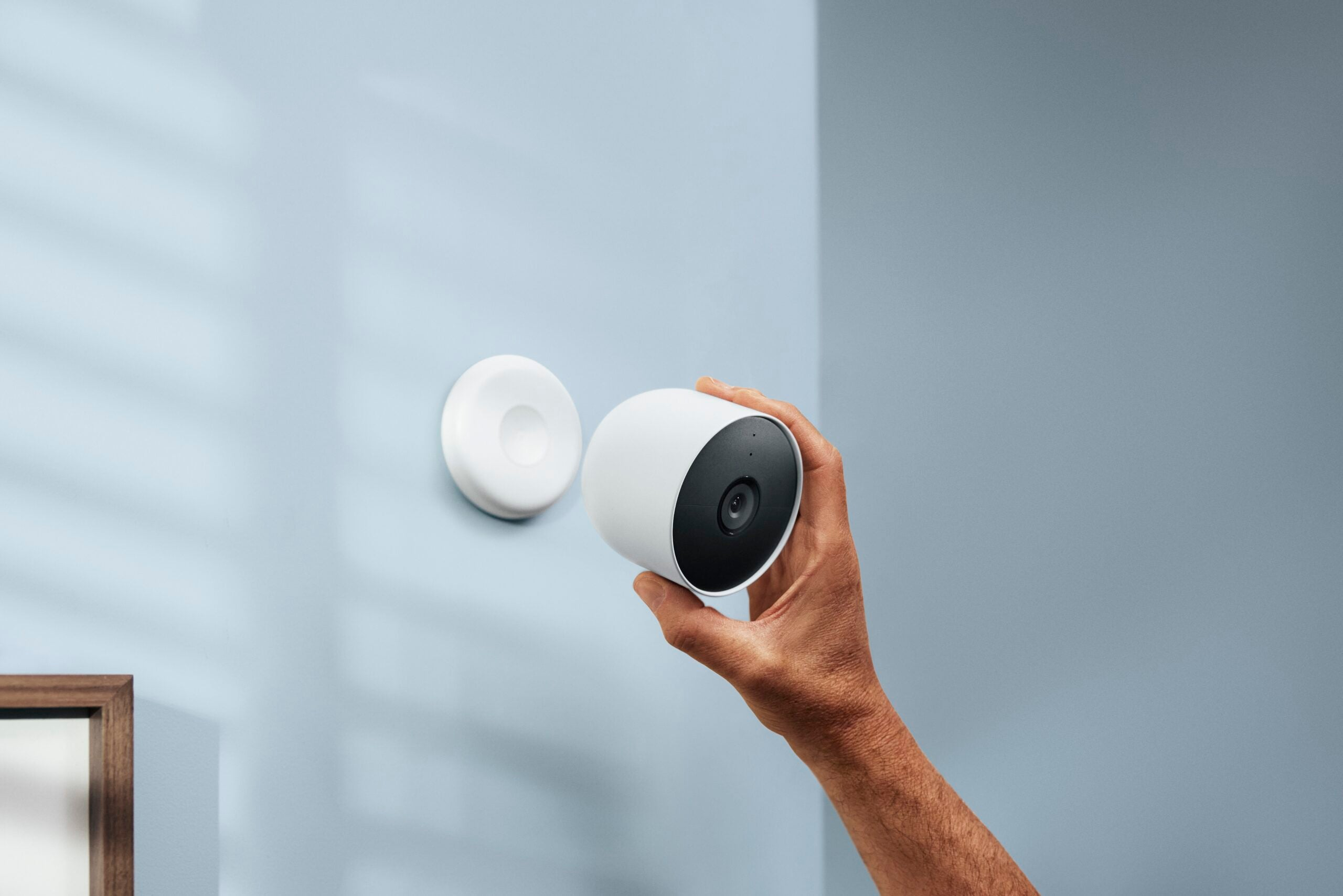 how to mount security camera without screws
